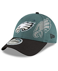 New Era Boys' Philadelphia Eagles Side Flect 9FORTY Cap