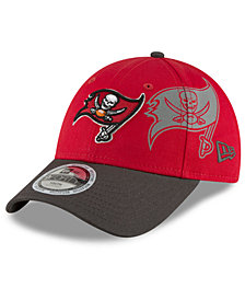 New Era Boys' Tampa Bay Buccaneers Side Flect 9FORTY Cap