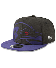 New Era Baltimore Ravens Oversized Laser Cut 9FIFTY Snapback Cap