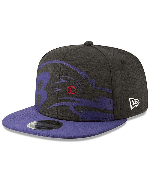 ... New Era Baltimore Ravens Oversized Laser Cut 9FIFTY Snapback Cap ... da885ac00