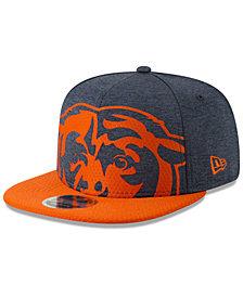 New Era Chicago Bears Oversized Laser Cut 9FIFTY Snapback Cap
