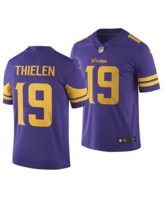 cheap for discount adc0b 10b26 Men's Adam Thielen Minnesota Vikings Limited Color Rush Jersey