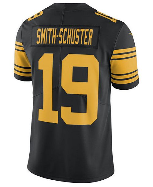 ... Nike Men s Juju Smith-Schuster Pittsburgh Steelers Limited Color Rush  Jersey ... 816c1850f