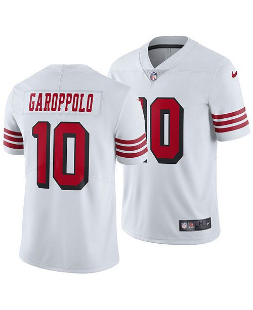 Nike Men's Jimmy Garoppolo San Francisco 49ers Limited Color Rush Jersey