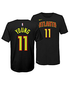 Nike Trae Young Atlanta Hawks Icon Name and Number T-Shirt, Big Boys (8-20)