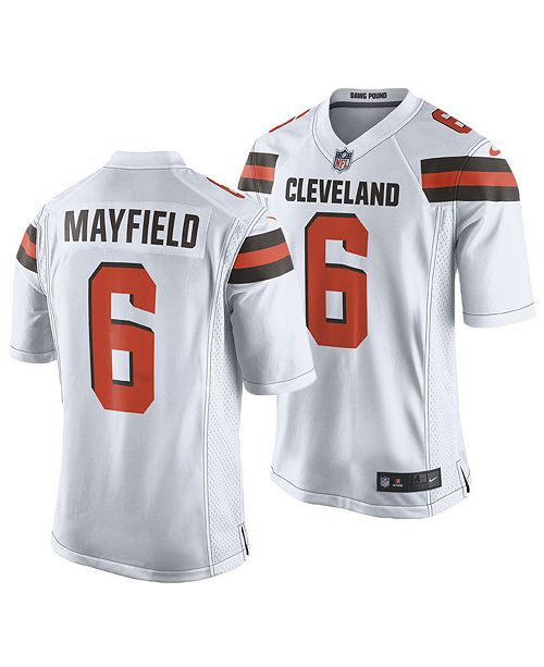 Nike Men's Baker Mayfield Cleveland Browns Game Jersey & Reviews
