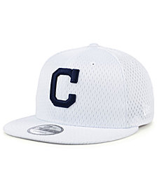 New Era Cleveland Indians Batting Practice Mesh 9FIFTY Snapback Cap
