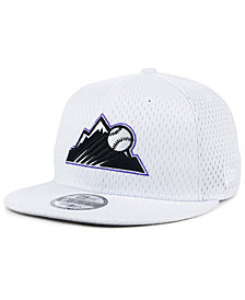 New Era Colorado Rockies Batting Practice Mesh 9FIFTY Snapback Cap