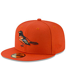 New Era Baltimore Orioles Batting Practice Wool Flip 59FIFTY FITTED Cap