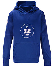 Nike Indianapolis Colts Prop of Therma Hoodie, Big Boys (8-20)