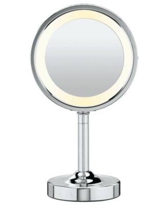 Conair  5x Magnified Lighted Makeup Mirror   Bathroom Accessories   Bed    Bath   Macy s. Conair  5x Magnified Lighted Makeup Mirror   Bathroom Accessories