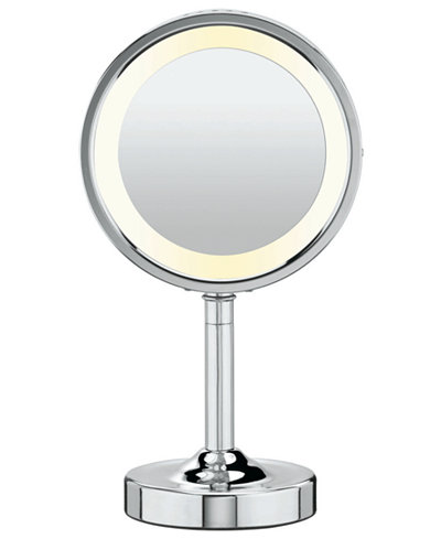Conair 5x Magnified Lighted Makeup Mirror Bathroom