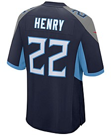 Derrick Henry Tennessee Titans Game Jersey, Big Boys (8-20)