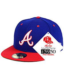 New Era Atlanta Braves Retro Stock 59FIFTY FITTED Cap