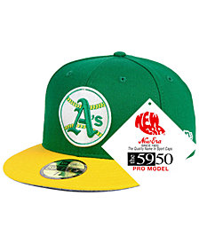 New Era Oakland Athletics Retro Stock 59FIFTY FITTED Cap