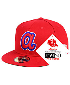 New Era Atlanta Braves Retro Stock 59FIFTY FITTED Cap