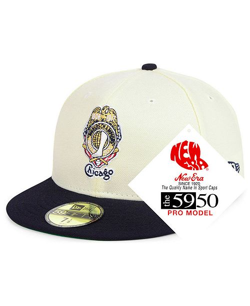 64e232bccdf New Era. Chicago White Sox Retro Stock 59FIFTY FITTED Cap. Be the first to  Write a Review. main image ...