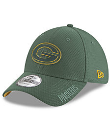 New Era Green Bay Packers Training Camp 39THIRTY Stretch Fitted Cap 2018