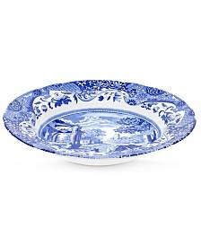 "Spode ""Blue Italian"" Rim Soup Bowl"