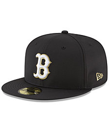 New Era Boston Red Sox Prolite Gold Out 59FIFTY FITTED Cap
