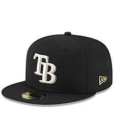 New Era Tampa Bay Rays Prolite Gold Out 59FIFTY FITTED Cap