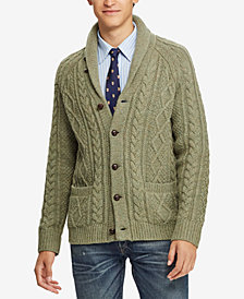 Polo Ralph Lauren Men's Cable-Knit Cardigan