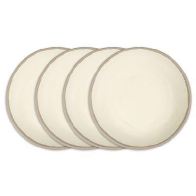 Potter Stone Melaboo 4-Pc. Dinner Plate Set