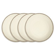 Potter Stone Melaboo 4-Pc. Dinner Plate Set