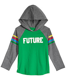 Epic Threads Little Boys Color-Stripe Future Hoodie, Created for Macy's