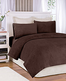 True North by Sleep Philosophy Soloft Plush 4-PC Full Sheet Set