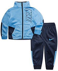 Nike Toddler Boys 2-Pc. Slant Colorblocked Track Suit Set