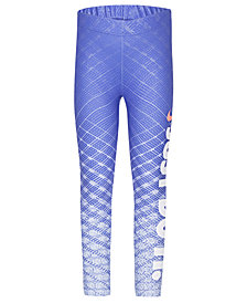 Nike Little Girls Dri-FIT Printed Logo Leggings