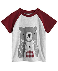 First Impressions Baby Boys Bears Graphic T-Shirt, Created for Macy's
