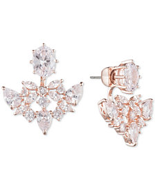 Jenny Packham Crystal Jacket Earrings