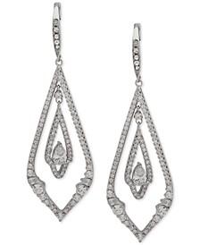 Pavé Chandelier Earrings