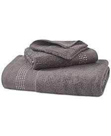 Urban Habitat Cotton Rhinestone Border Hand Towel, Created for Macy's