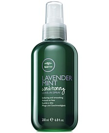 Tea Tree Lavender Mint Conditioning Leave-In Spray, 6.8-oz., from PUREBEAUTY Salon & Spa