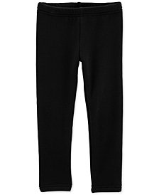 Carter's Baby Girls Cozy Black Leggings