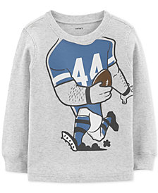 Carter's Baby Boys Football Graphic Cotton T-Shirt