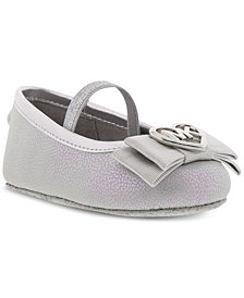 Michael Kors Baby Girls Glitter Slip-On Shoes