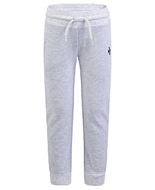 Converse Big Girls Fleece Sparkle Jogger Pants