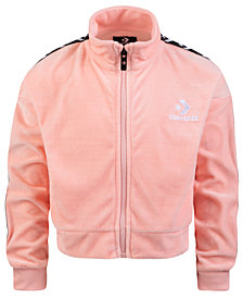 Converse Big Girls Velour Track Jacket