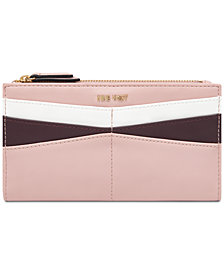 Nine West Slim Card Wallet With Slots