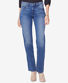 NYDJ Marilyn Uplift Tummy-Control Straight-Leg Jeans, In Regular & Petite Sizes