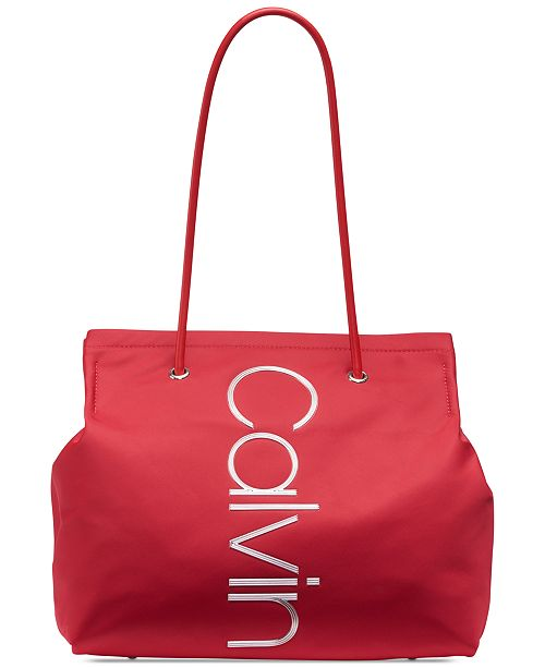 dcfc39908521a Calvin Klein Mallory Tote   Reviews - Handbags   Accessories - Macy s