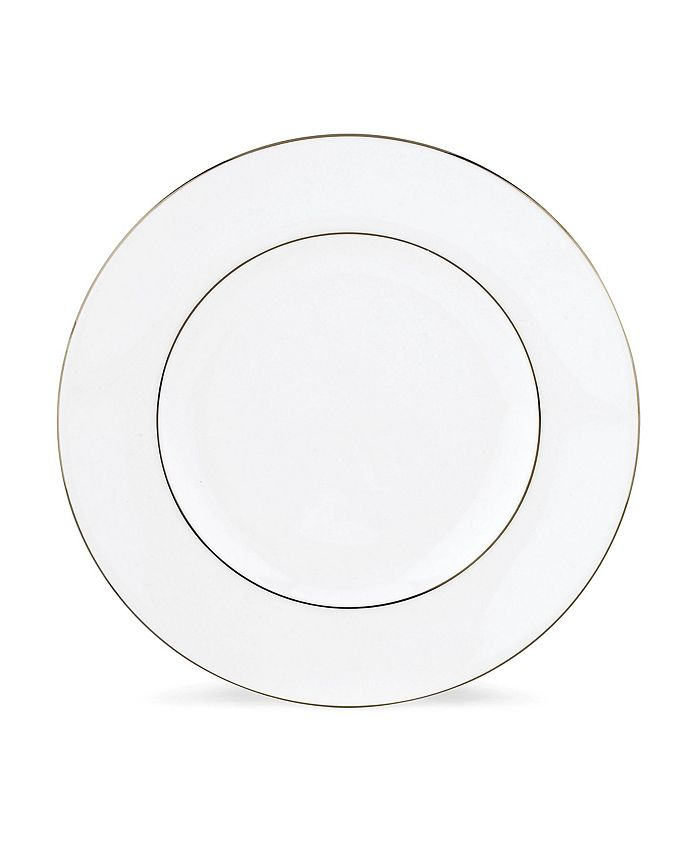 """Lenox - """"Continental Dining Platinum"""" Microsafe Accent Plate"""