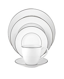 Lenox Continental Dining Platinum 5 Piece Place Setting