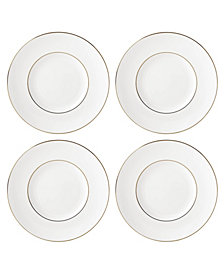 Lenox Continental Dining Gold Tidbit Plates