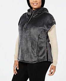 Columbia Plus Size Fire Side™ Hooded Fleece Vest