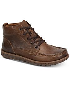 Born Men's Gilden Moc-Toe Leather Boots